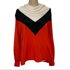 Vintage Mistyque by Robert Packer top 16 Red.